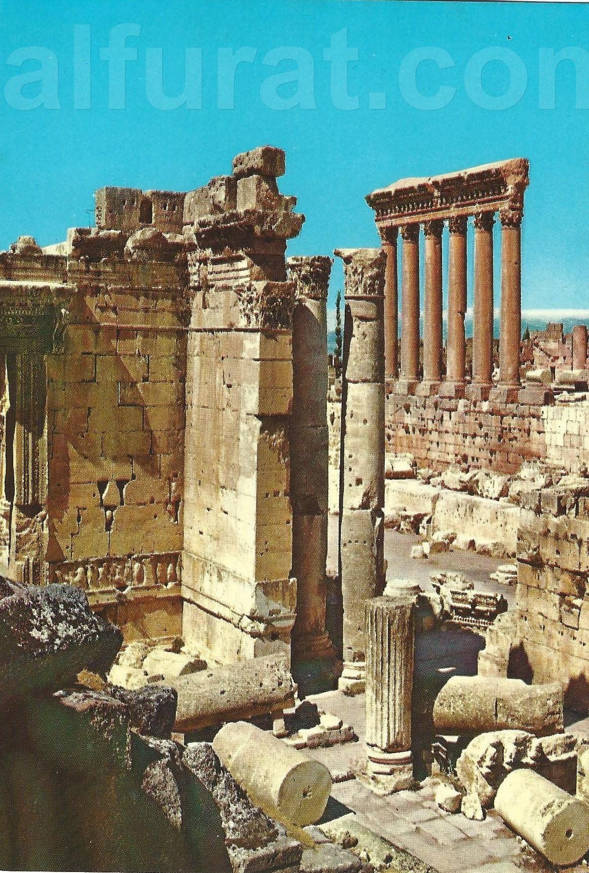 Baalbeck  Pillars of Jupiter