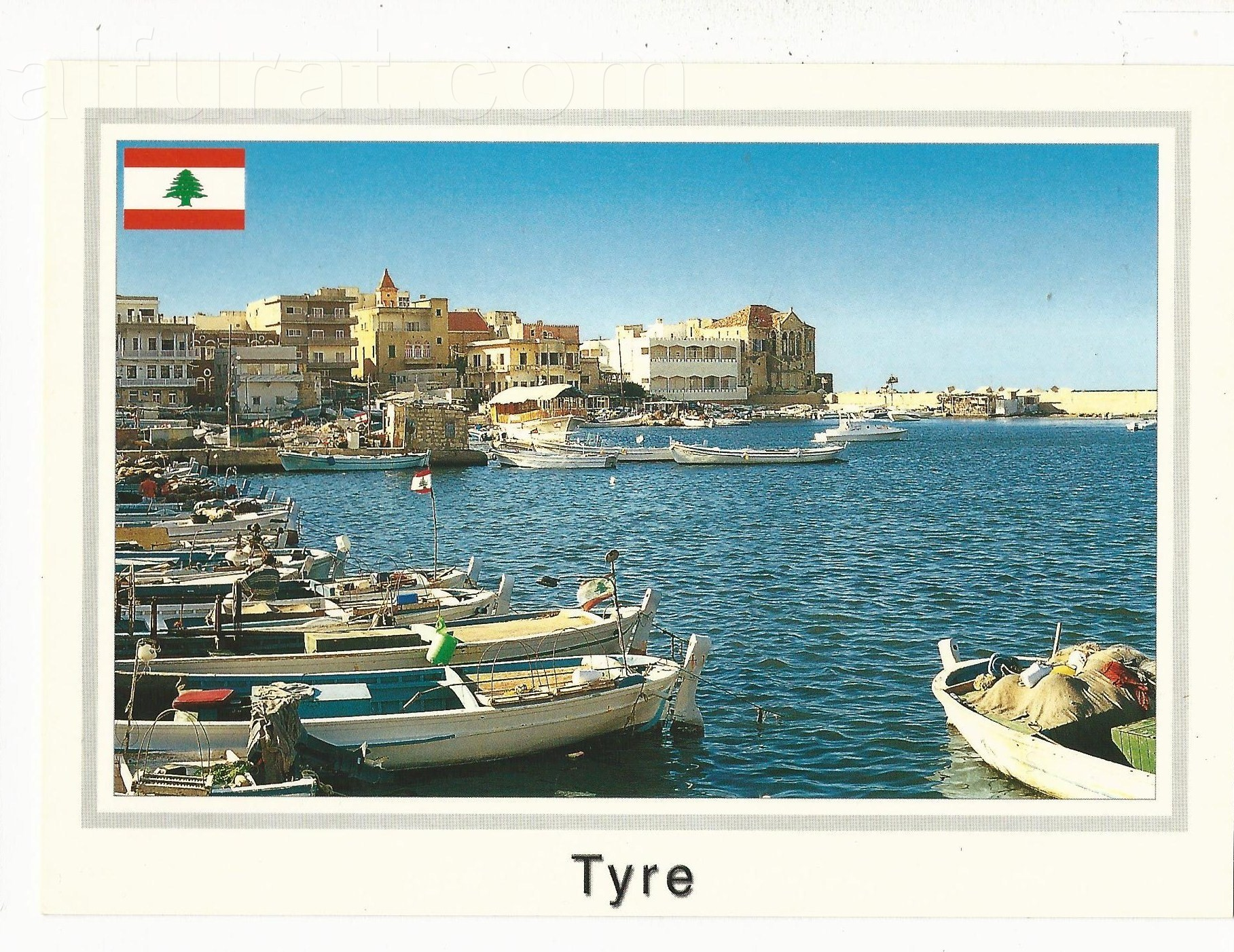 Tyre  the Harbour   C 937A صور